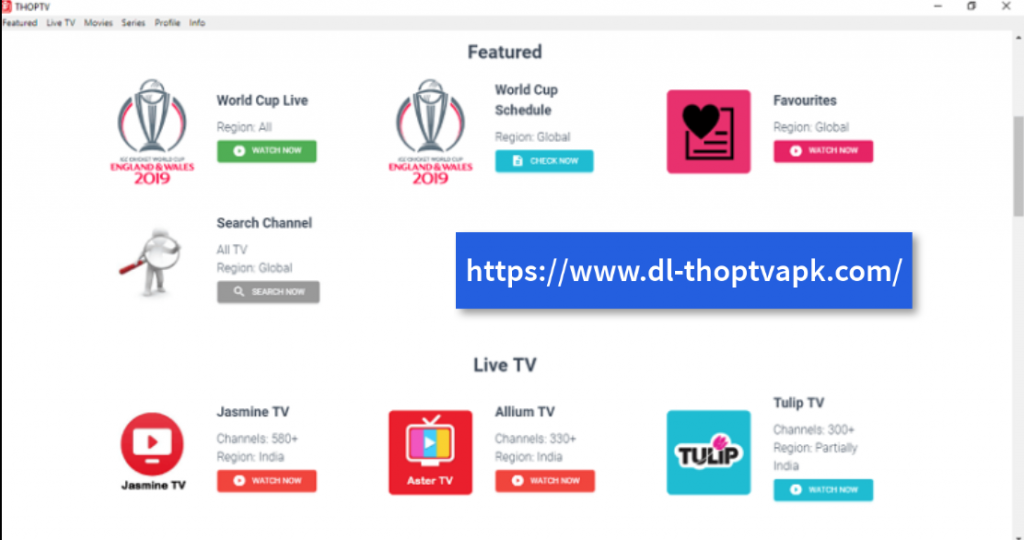 ThopTV Free Download For Windows PC